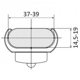 Υποβρύχιο Φωτιστικό Led Osculati Για Σκάλα Μπλέ Χρώμα