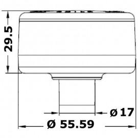 Φανός Περίβλεπτος Inox Osculati 12V