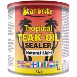 Tropical Teak Oil Sealer Star Brite Natural Light 946ml