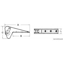 Ράουλο Άγκυρας Osculati Inox Έως 10kg