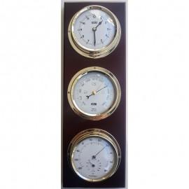 Ρολόϊ/Βαρόμετρο/Θερμόμετρο/Υγρόμετρο 390x130