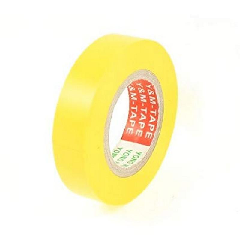 Μονωτική Ταινία Κίτρινη Wanter 19mm x 20mt