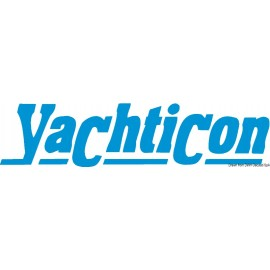 Σκούπα Μαλακή Με Ξύλο Και Δίοδο Νερού Yachticon Soft Brush 200x85mm