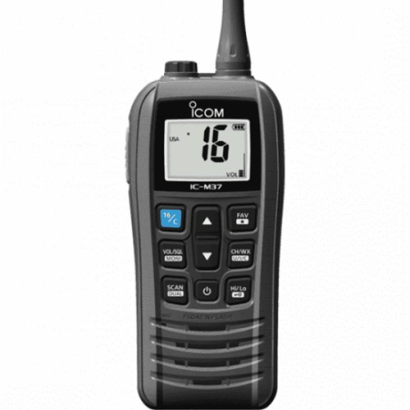 Icom IC-M37E VHF Marine Transceiver