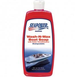 Σαμπουάν Με Κερί 473ml-3.78lt Sea Power Wax Soap Made in Usa